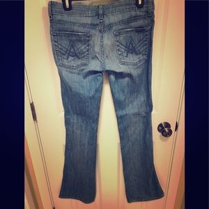 "7 for all mankind ""A"" pocket bootcut jeans 👖"